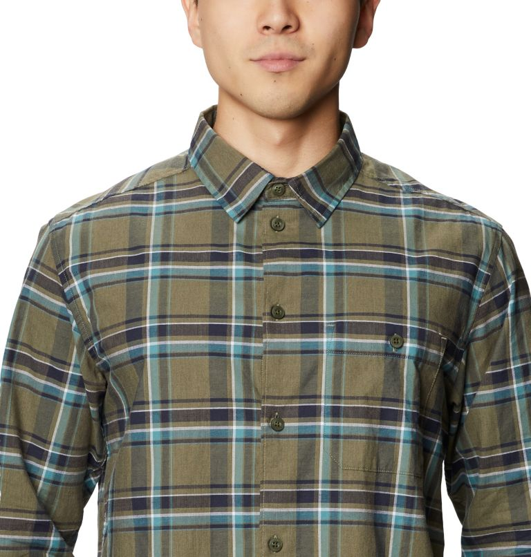 Big Cottonwood™ Long Sleeve Shirt | 333 | M Men's Big Cottonwood™ Long Sleeve Shirt, Light Army, a2