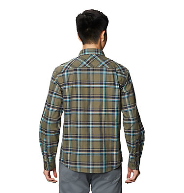 Men's Big Cottonwood™ Long Sleeve Shirt Big Cottonwood™ Long Sleeve Shirt | 333 | L, Light Army, back