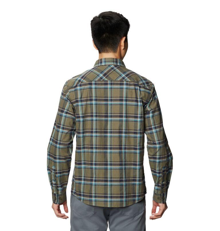 Big Cottonwood™ Long Sleeve Shirt | 333 | M Men's Big Cottonwood™ Long Sleeve Shirt, Light Army, back