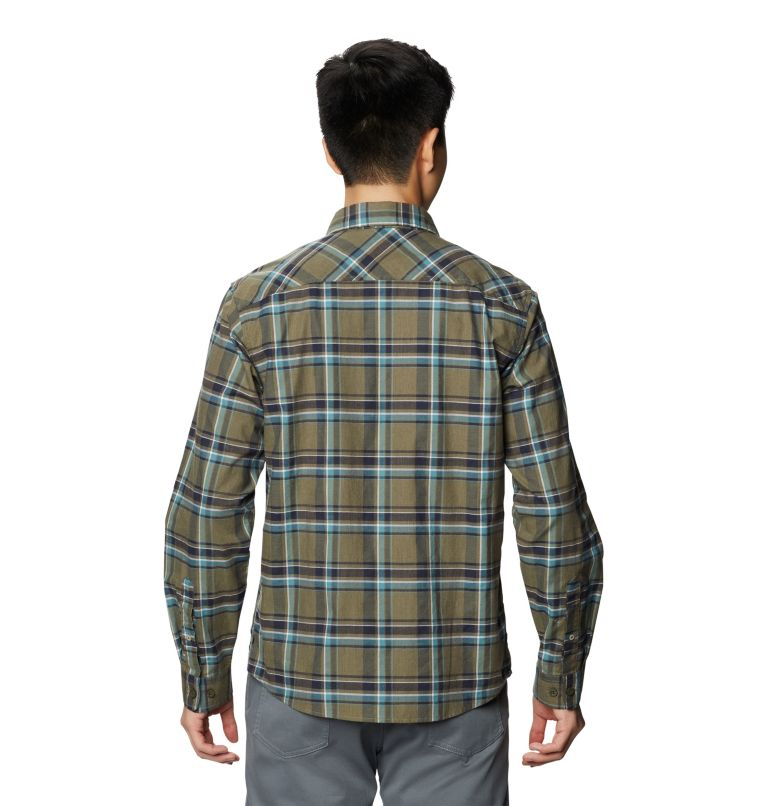 Big Cottonwood™ Long Sleeve Shirt | 333 | S Men's Big Cottonwood™ Long Sleeve Shirt, Light Army, back