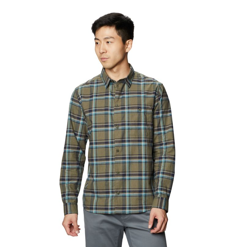 Big Cottonwood™ Long Sleeve Shirt | 333 | M Men's Big Cottonwood™ Long Sleeve Shirt, Light Army, front