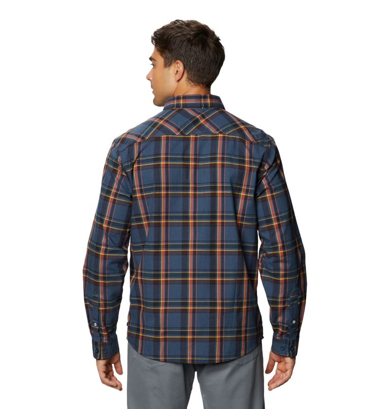 Big Cottonwood™ Long Sleeve Shirt | 492 | M Men's Big Cottonwood™ Long Sleeve Shirt, Zinc, back