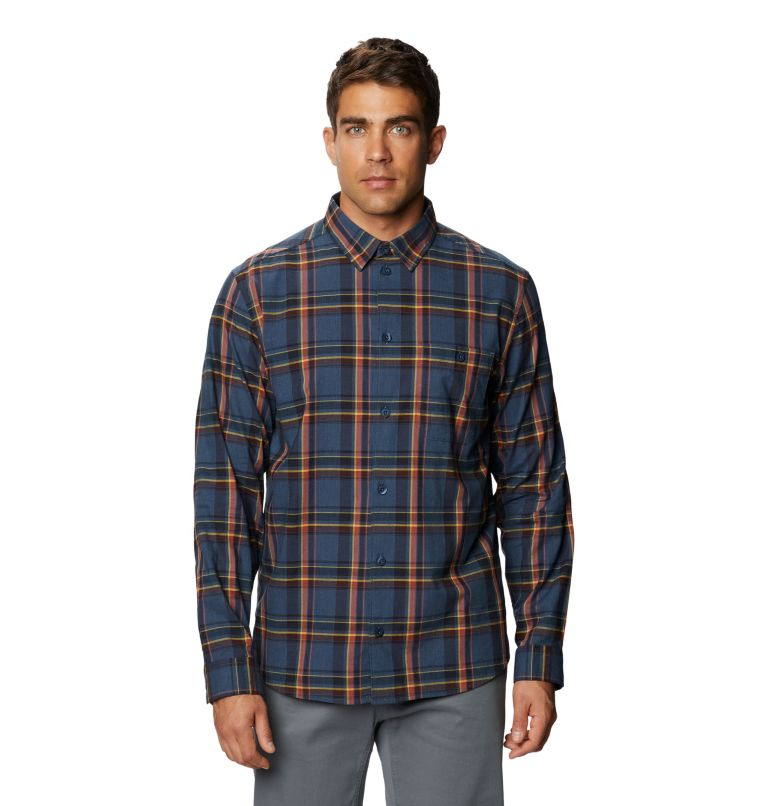 Big Cottonwood™ Long Sleeve Shirt | 492 | M Men's Big Cottonwood™ Long Sleeve Shirt, Zinc, front