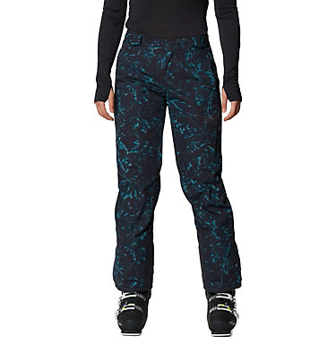 Women's FireFall/2™ Insulated Pant FireFall/2™ Insulated Pant | 006 | L, Dark Storm Glitch Print, front