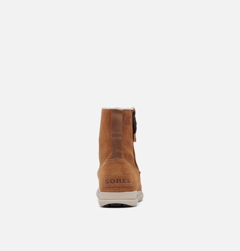 SOREL™ EXPLORER ZIP | 224 | 10 Women's Sorel™ Explorer Zip Boot, Camel Brown, back