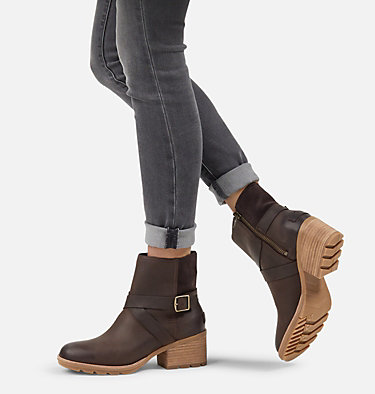 Women's Cate™ Buckle Bootie CATE™ BUCKLE | 205 | 10, Blackened Brown, video