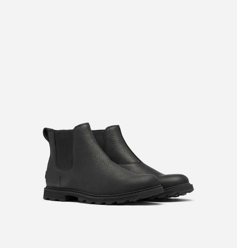 MADSON™ II CHELSEA WP | 010 | 10 Men's Madson™ II Chelsea Boot, Black, 3/4 front