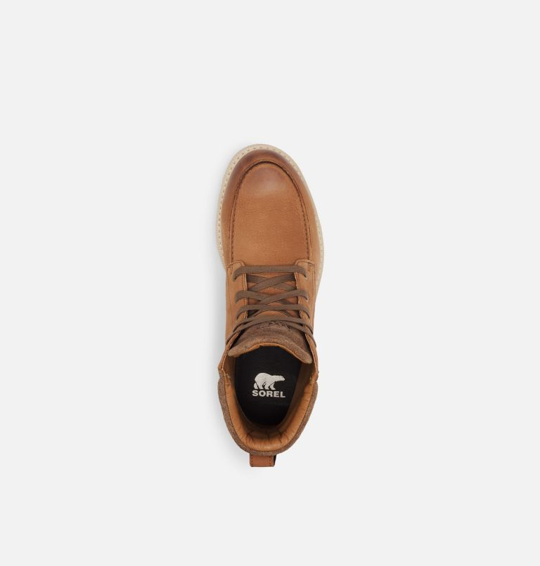 MADSON™ II MOC TOE WP | 242 | 7.5 Men's Madson™ II Moc Toe Boot, Velvet Tan, top