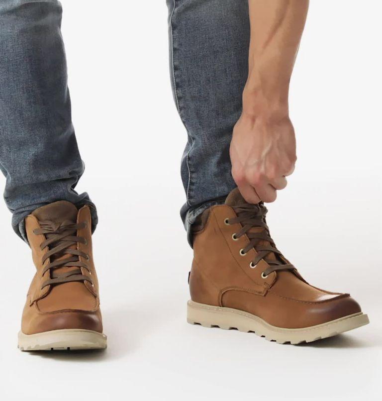 MADSON™ II MOC TOE WP | 242 | 8.5 Men's Madson™ II Moc Toe Boot, Velvet Tan, video