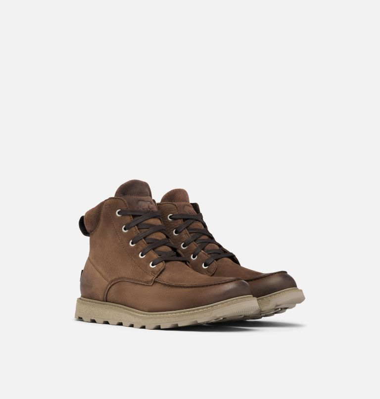 Botín impermeable Madson™ II Moc Toe para hombre Botín impermeable Madson™ II Moc Toe para hombre, 3/4 front