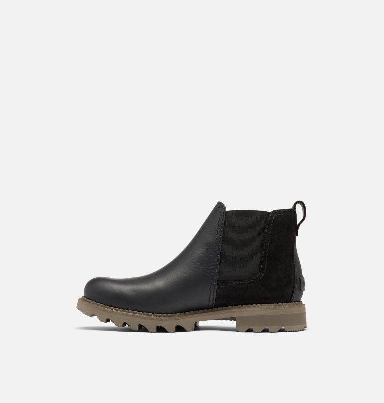 MAD BRICK™ CHELSEA WP | 010 | 9.5 Men's Mad Brick™ Chelsea Boot, Black, medial