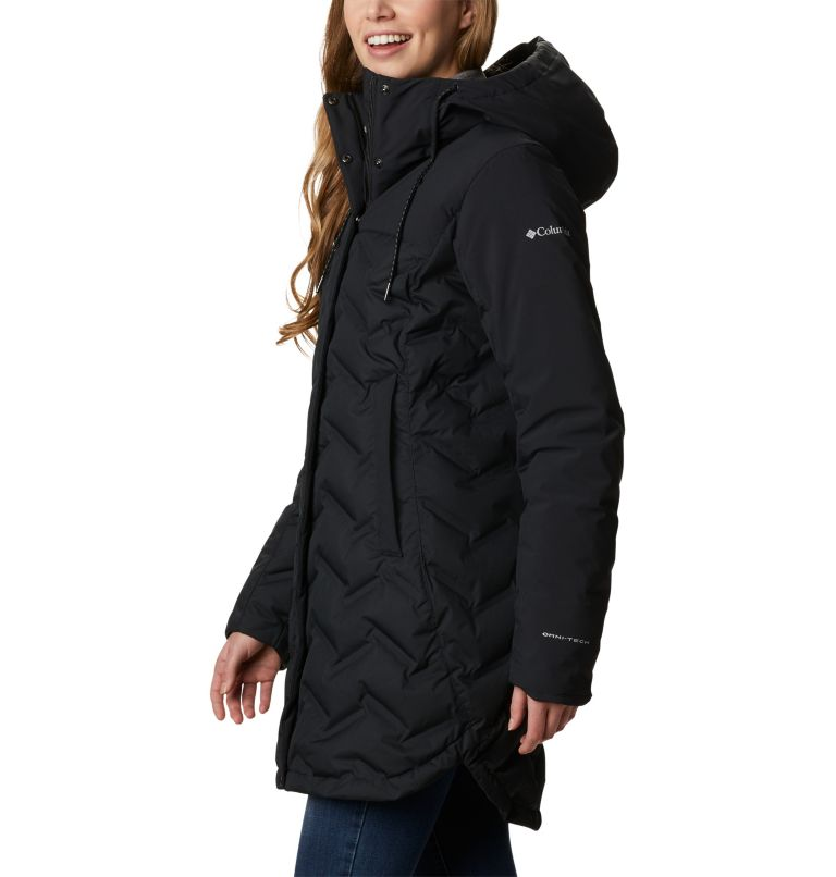 Mountain Croo™ Long Down Jacket | 010 | XS Doudoune longue Mountain Croo femme, Black, a1