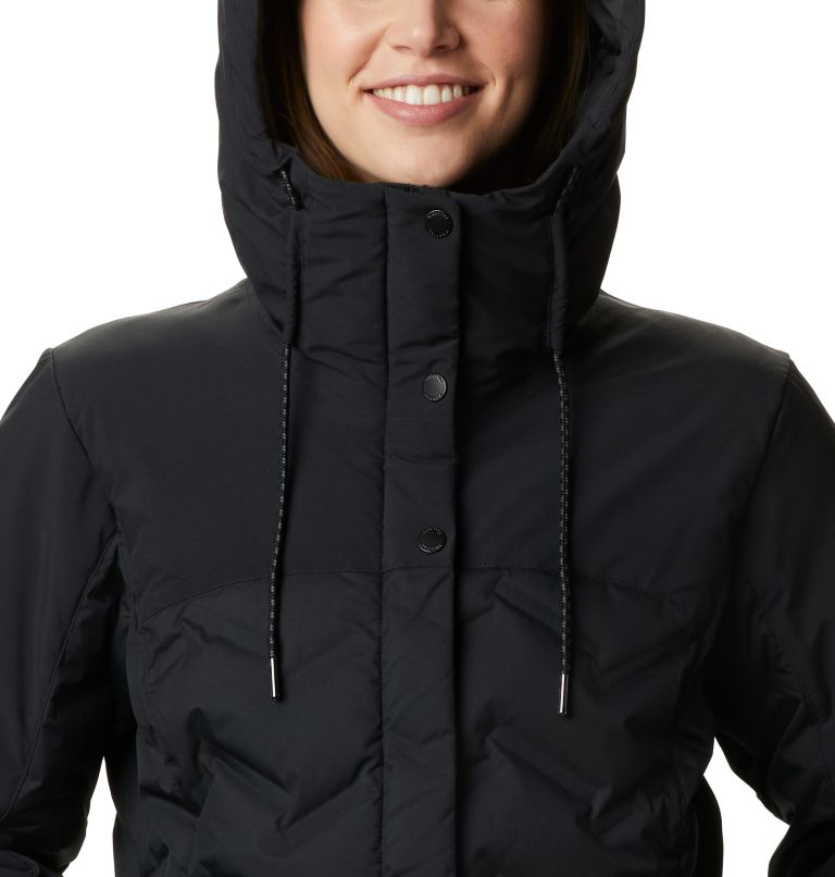 Mountain Croo™ Long Down Jacket | 010 | XS Doudoune longue Mountain Croo femme, Black, a2