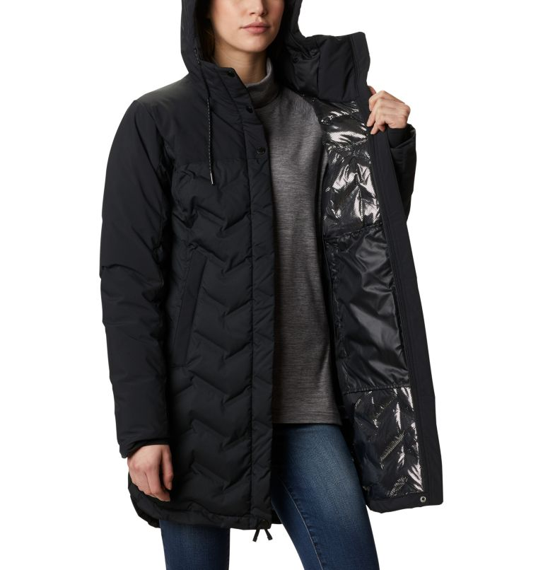 Mountain Croo™ Long Down Jacket | 010 | XS Doudoune longue Mountain Croo femme, Black, a3