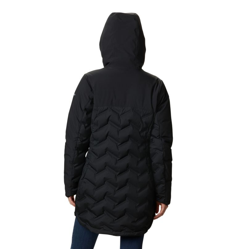 Mountain Croo™ Long Down Jacket | 010 | XS Doudoune longue Mountain Croo femme, Black, back