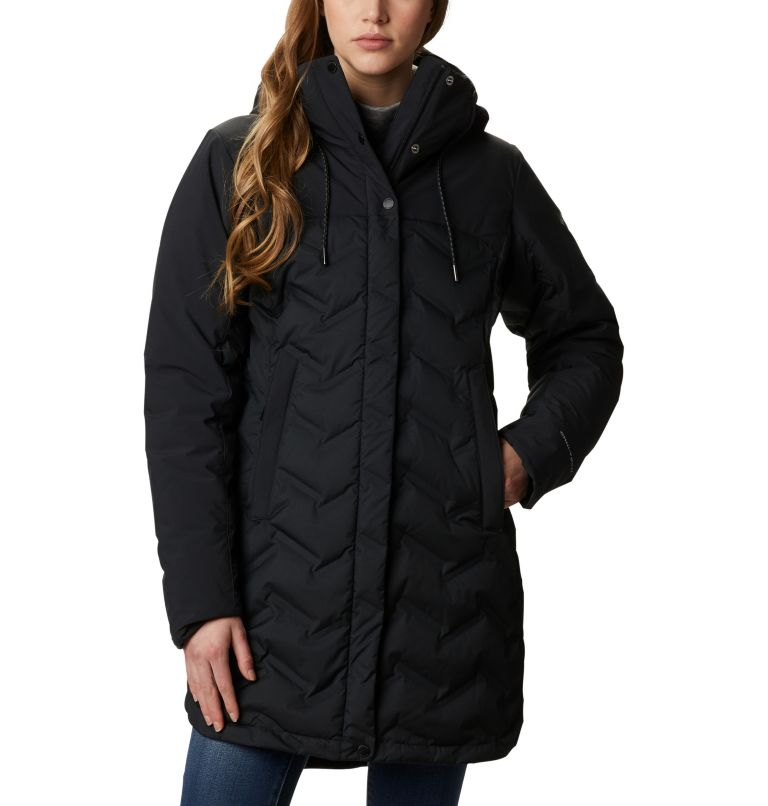 Mountain Croo™ Long Down Jacket | 010 | XS Doudoune longue Mountain Croo femme, Black, front