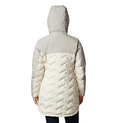 Women's Mountain Croo™ Long Down Jacket Mountain Croo™ Long Down Jacket | 010 | M, Chalk, Flint Grey, back