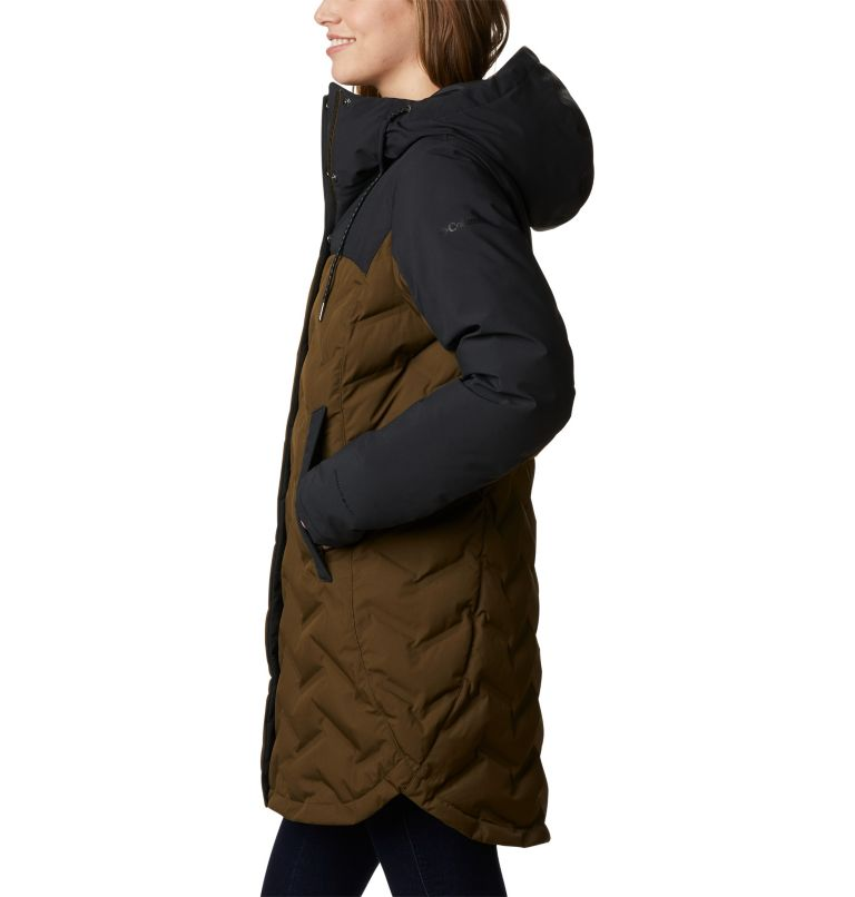 Mountain Croo™ Long Down Jacket | 319 | S Doudoune longue Mountain Croo femme, Olive Green, Black, a1