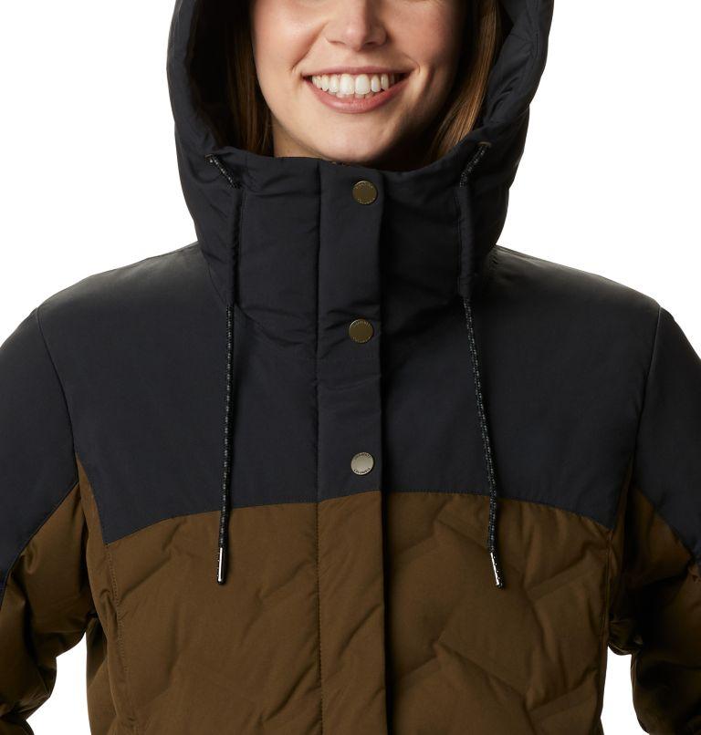 Mountain Croo™ Long Down Jacket | 319 | S Manteau long en duvet Mountain Croo™ pour femme, Olive Green, Black, a2