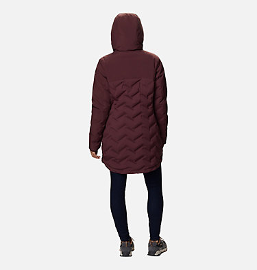 Women's Mountain Croo™ Long Down Jacket Mountain Croo™ Long Down Jacket | 010 | M, Malbec, back