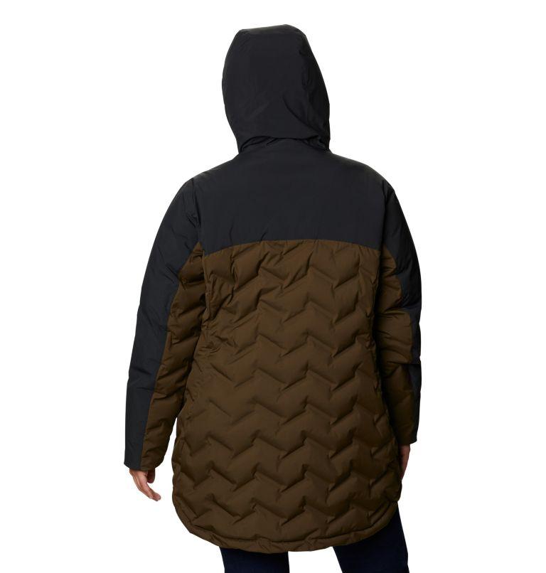 Women's Mountain Croo™ Long Down Jacket - Plus Size Women's Mountain Croo™ Long Down Jacket - Plus Size, back