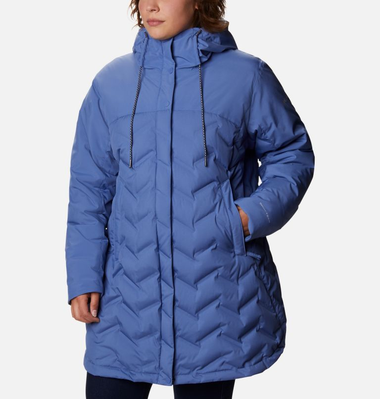 Women's Mountain Croo™ Long Down Jacket - Plus Size Women's Mountain Croo™ Long Down Jacket - Plus Size, front