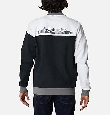 Unisex Mountain View™ Omni-Heat™ Crew Sweatshirt Mountain View™ Unisex Crew | 010 | M, Black, White, City Grey, back