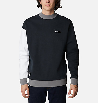 Unisex Mountain View™ Omni-Heat™ Crew Sweatshirt Mountain View™ Unisex Crew | 010 | M, Black, White, City Grey, front