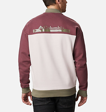 Unisex Mountain View™ Omni-Heat™ Crew Sweatshirt Mountain View™ Unisex Crew | 010 | M, Mineral Pink, Malbec, Stone Green, back