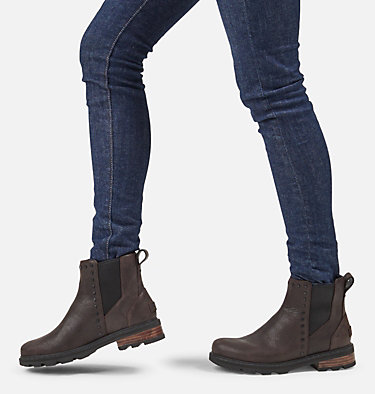 Botte Lennox™ Chelsea cloutée femme LENNOX™ CHELSEA STUD | 205 | 10, Blackened Brown, video