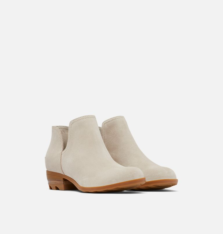 LOLLA™ II CUT OUT | 096 | 6.5 Womens Lolla™ II Cut Out Bootie, Soft Taupe, Gum, 3/4 front