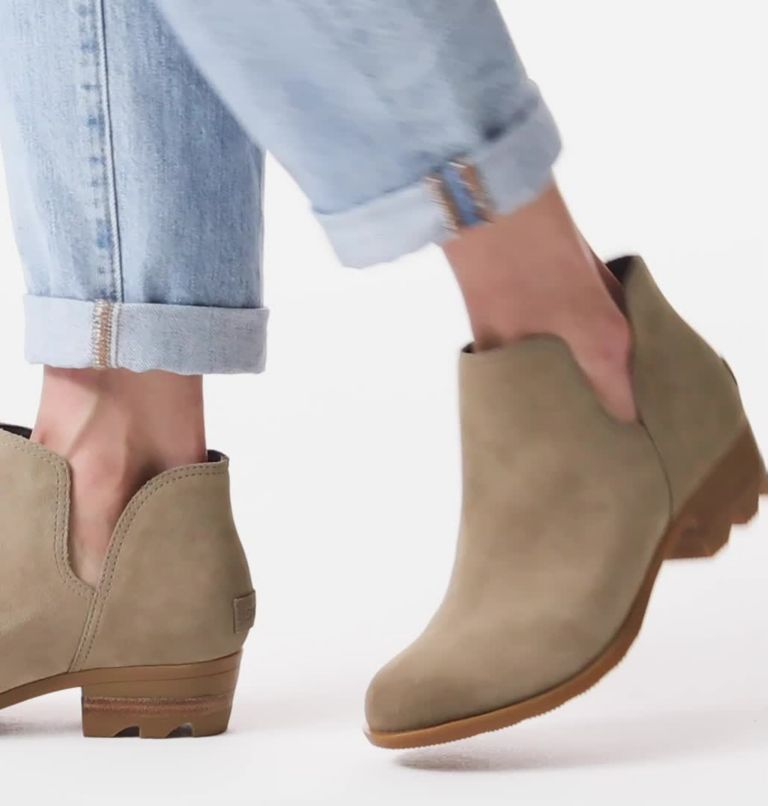 LOLLA™ II CUT OUT | 297 | 10 Womens Lolla™ II Cut Out Bootie, Khaki II, video