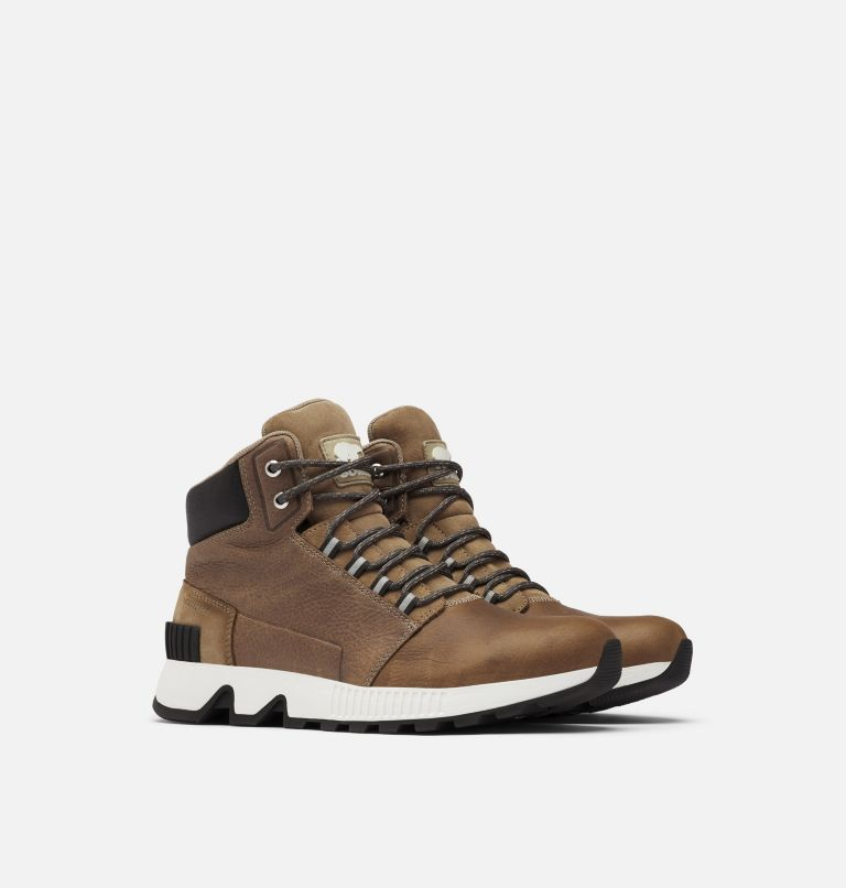 Men's Mac Hill™ Mid Leather Waterproof Boot Men's Mac Hill™ Mid Leather Waterproof Boot, 3/4 front