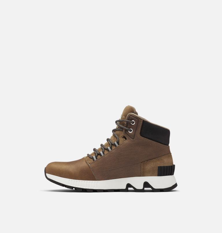 MAC HILL™ MID LTR WP | 297 | 8 Chaussure en cuir imperméable Mac Hill™ Mid homme, Khaki II, medial