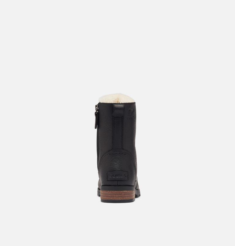 EMELIE™ SHORT LACE COZY | 010 | 7 Women's Emelie™ Short Lace Cozy Boot, Black, back