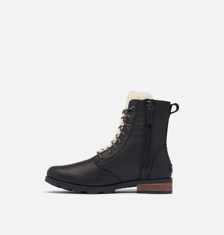 EMELIE™ SHORT LACE COZY | 010 | 7 Women's Emelie™ Short Lace Cozy Boot, Black, medial