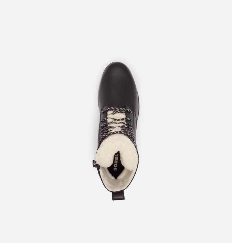 EMELIE™ SHORT LACE COZY | 010 | 7 Women's Emelie™ Short Lace Cozy Boot, Black, top