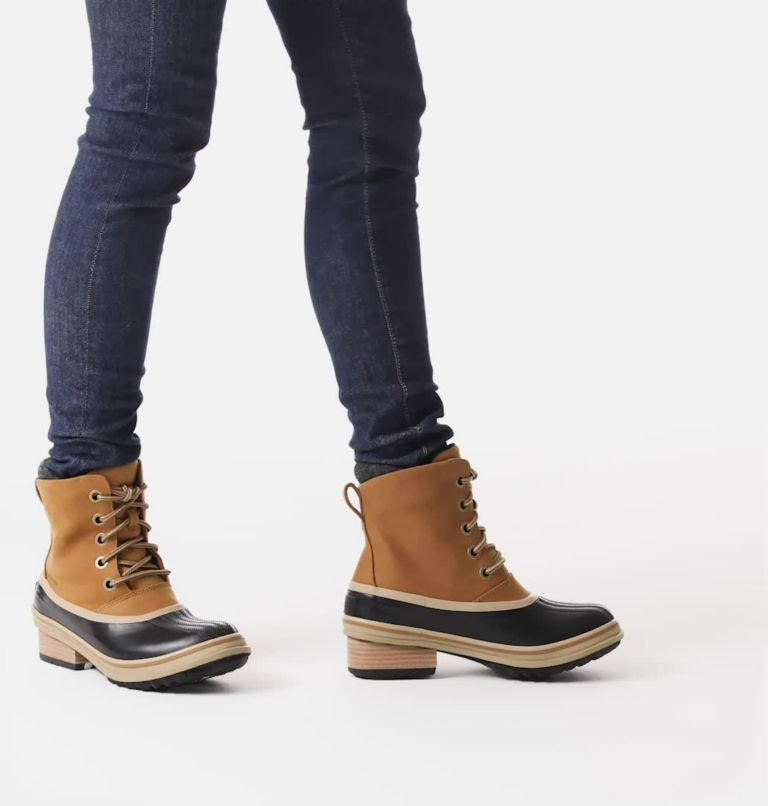 SLIMPACK™ III LACE | 286 | 8 Womens Slimpack™ III Lace Duck Boot, Elk, video