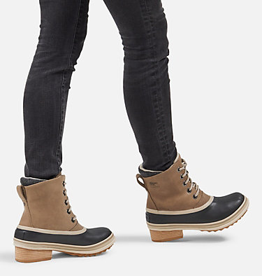 Womens Slimpack™ III Lace Duck Boot SLIMPACK™ III LACE | 010 | 10.5, Khaki II, video
