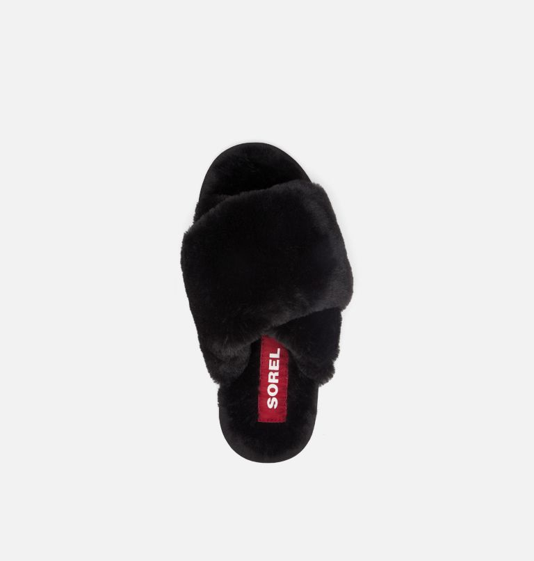 SOREL GO™ - MAIL RUN | 010 | 10 Women's Sorel Go™ - Mail Run Slipper, Black, top
