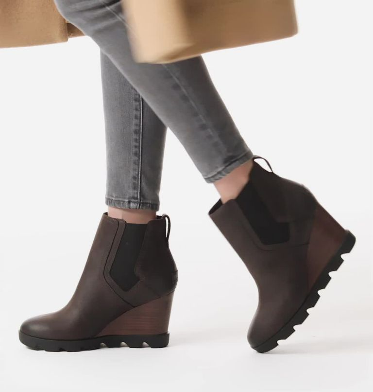JOAN UPTOWN™ CHELSEA | 205 | 5 Women's Joan Uptown™ Chelsea Bootie, Blackened Brown, video