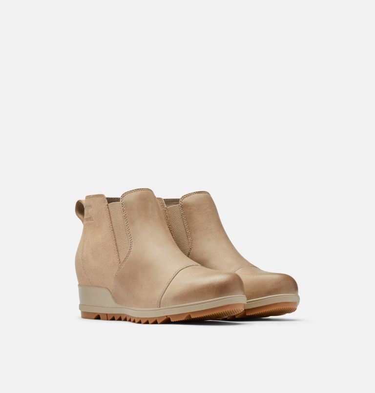 EVIE™ PULL-ON | 264 | 10 Womens Evie™ Pull-On Bootie, Omega Taupe, Gum 2, 3/4 front