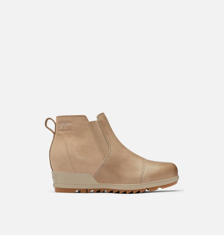 EVIE™ PULL-ON | 264 | 10 Womens Evie™ Pull-On Bootie, Omega Taupe, Gum 2, front