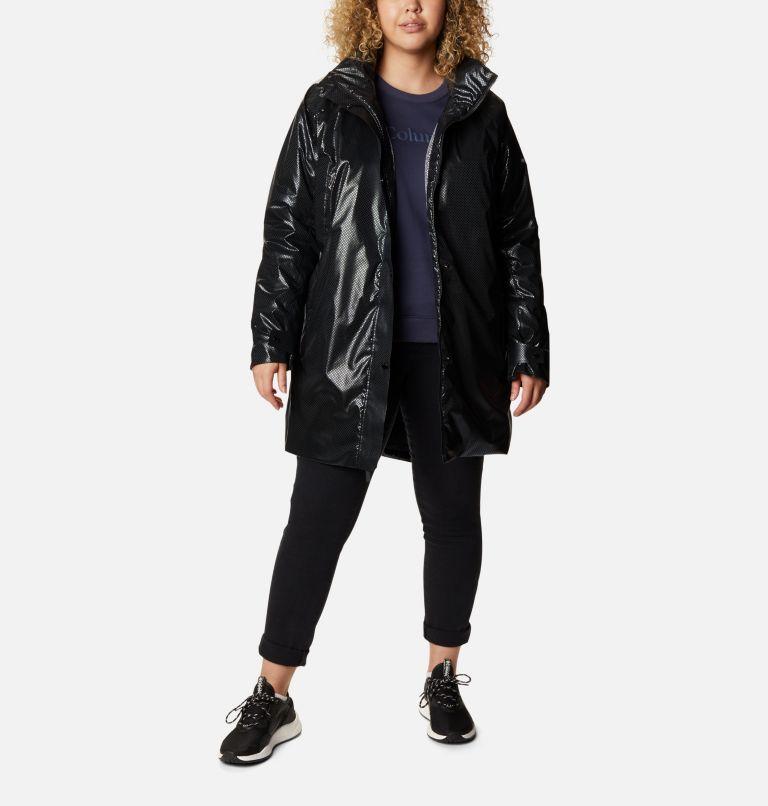 Manteau Dawn Watch™ Black Dot™ pour femme - Grandes tailles Manteau Dawn Watch™ Black Dot™ pour femme - Grandes tailles, front