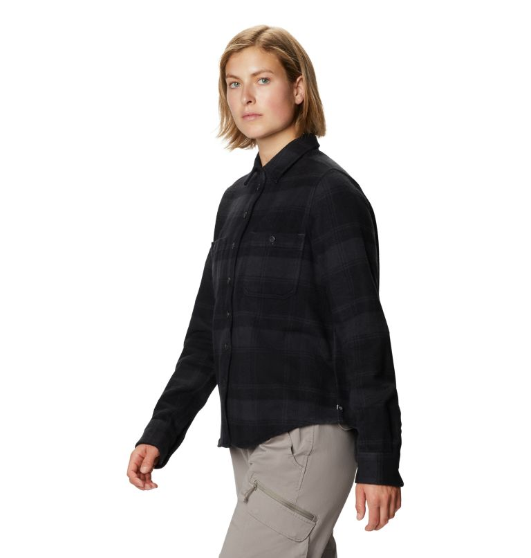 Plusher™ Long Sleeve Shirt | 004 | XL Women's Plusher™ Long Sleeve Shirt, Dark Storm, a1