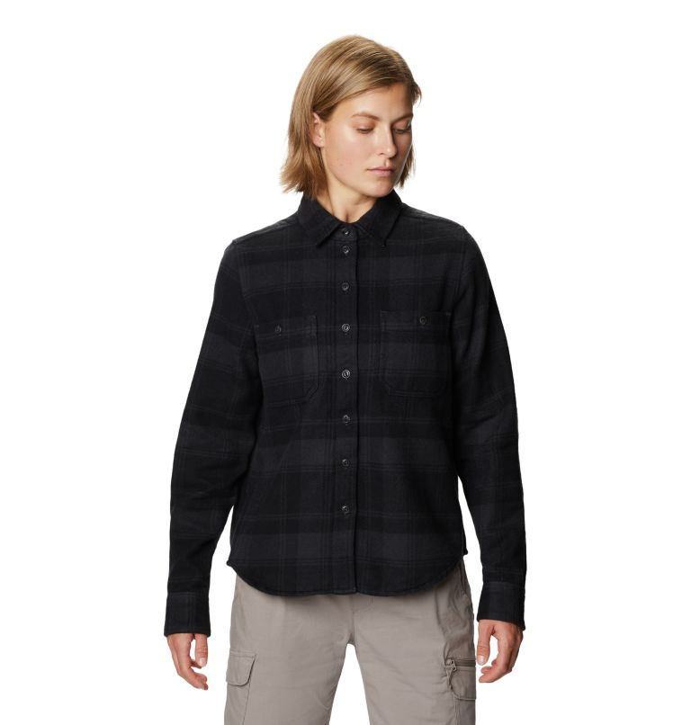 Plusher™ Long Sleeve Shirt | 004 | XL Women's Plusher™ Long Sleeve Shirt, Dark Storm, front