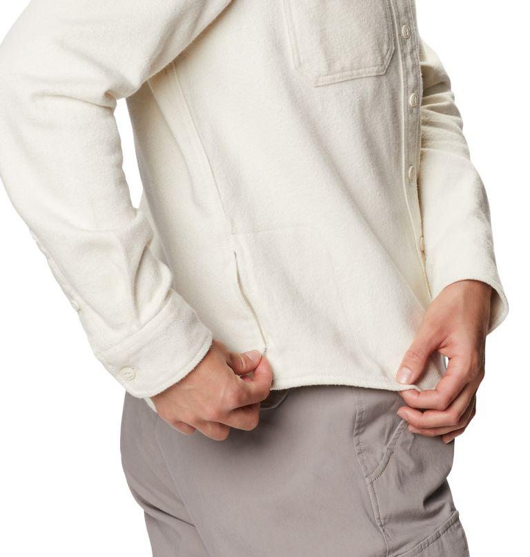 Plusher™ Long Sleeve Shirt | 022 | XL Chemise à manches longues Plusher™ Femme, Stone, a3