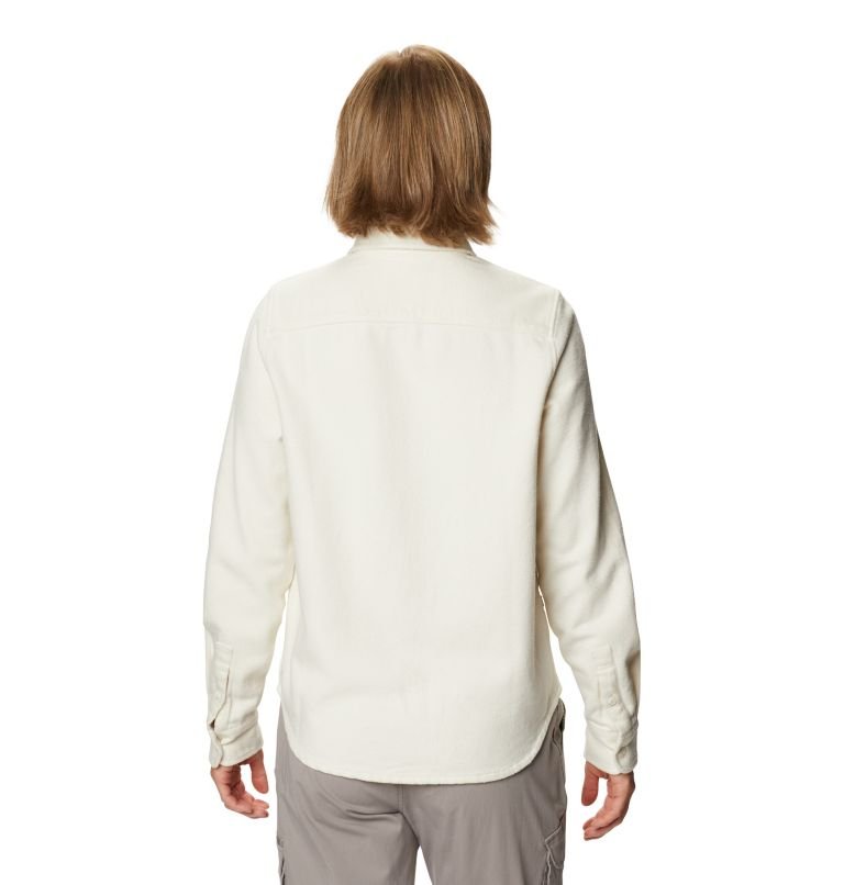 Plusher™ Long Sleeve Shirt | 022 | S Chemise à manches longues Plusher™ Femme, Stone, back