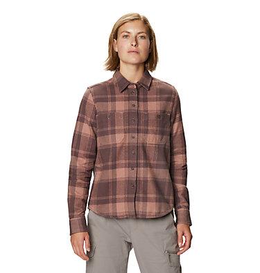 Women's Plusher™ Long Sleeve Shirt Plusher™ Long Sleeve Shirt | 022 | L, Smoky Quartz, front