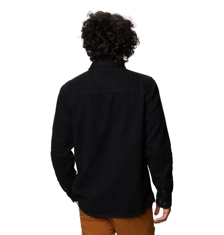 Plusher™ Long Sleeve Shirt | 010 | L Men's Plusher™ Long Sleeve Shirt, Black, back